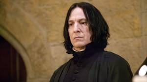 "Alan Rickman als Snape in ""Harry Potter"""