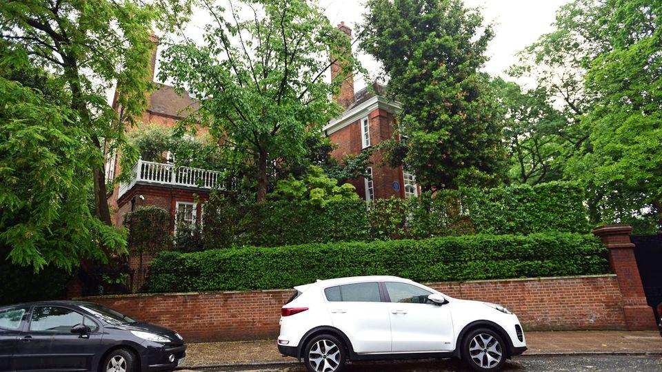 Das Haus des Sängers Robbie Williams