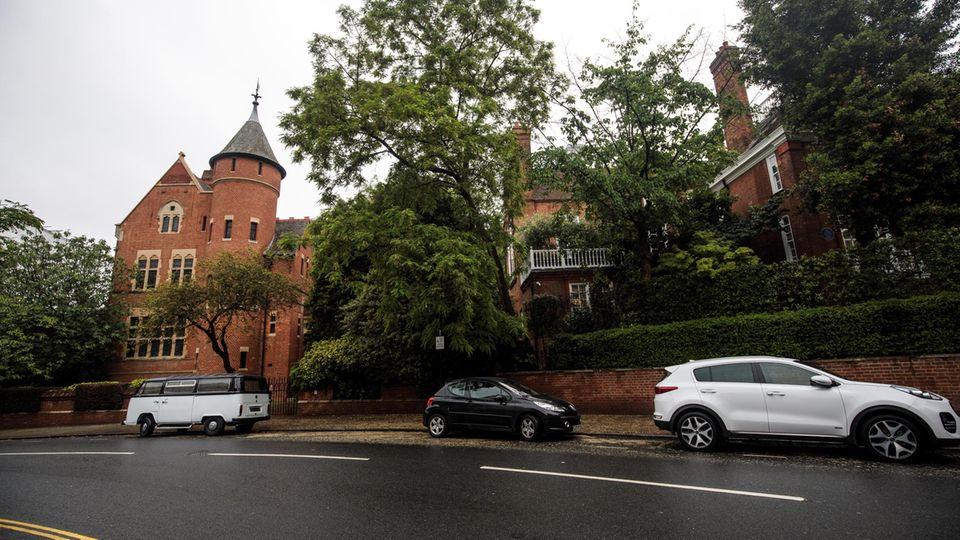 Die Häuser der beiden Musiker liegen nur 13 Meter auseinander