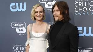 Diane Kruger und Norman Reedus bei den Critics' Choice Awards im Januar
