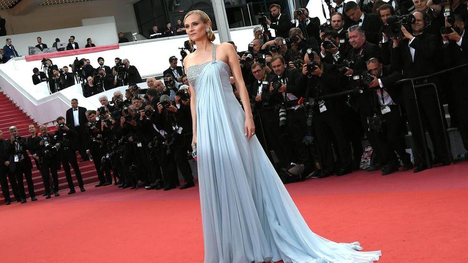 Diane Kruger bei den Filmfestspielen in Cannes