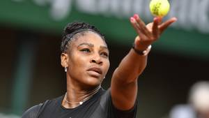 Serena Williams bei den diesjährigen French Open