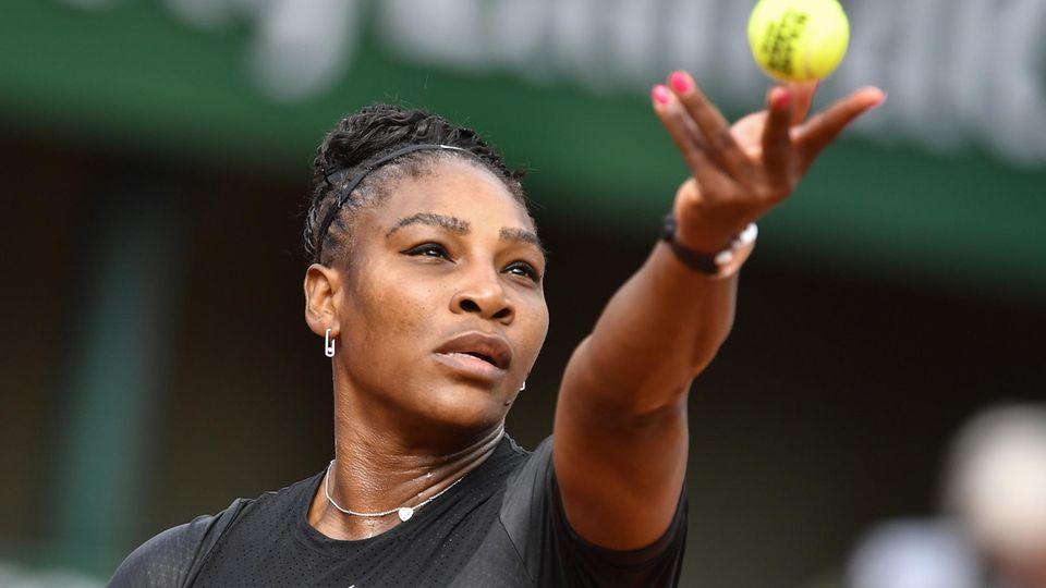 Serena Williams bei den diesjährigen French Open