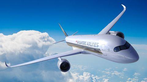 Ab dem 11. Oktober 2018 wird eine Langstreckenmaschine vom Typ Airbus A350-900ULR erstmals auf der Strecke Singapur-New York fliegen: Abflug um 23:35 Uhr in Singapur mit Landung in New York um 6 Uhr am folgenden Tag.