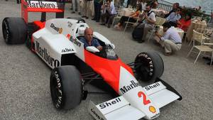 McLaren am Comer See.