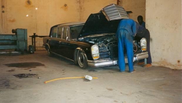 Die Teilejagd führte auch in die Garagen afrikanischer Potentaten