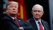Jeff Sessions im Visier: Donald Trump rechnet wortreich mit seinem Justizminister ab