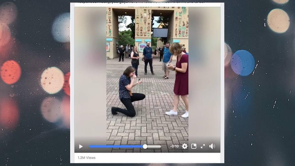 sie macht ihm einen heiratsantrag