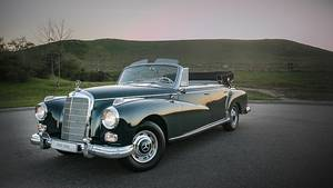 Mercedes 300 d Cabriolet - ein Zeichen der aufstrebenden Bundesrepublik