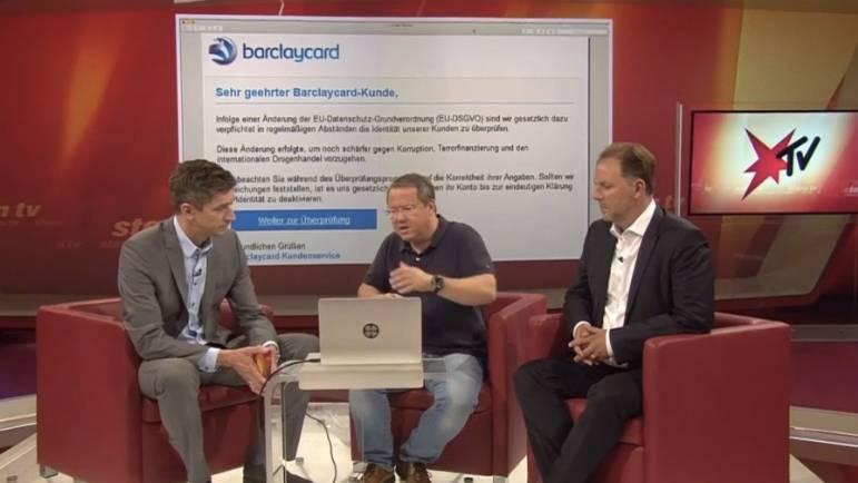 Antworten auf Zuschauerfragen: Rechtsanwalt Christian Solmecke und IT-Experte Tobias Schrödel erklären die DSGVO für Verbraucher