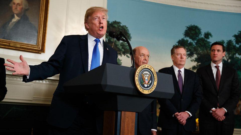 USA verhängen Strafzölle auf Stahl und Aluminium - EU kündigt Gegenmaßnahmen an