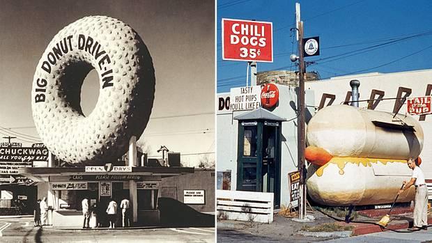 """Der Bildband """"Crazy California"""" stellt die kuriosen Gebäude in Los Angeles vor."""