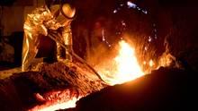 Stahlwerk in Salzgitter