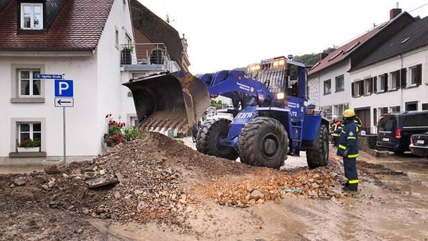 Unwetter - Deutschland - Gewitter - Starkregen