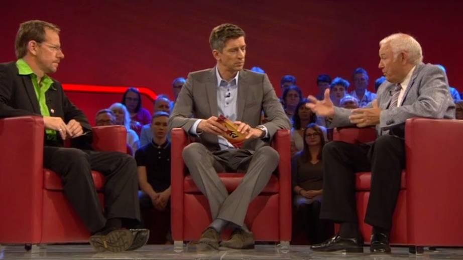 """Studiotalk mit Günther Beckstein und Alexander Thal: """"Der Staat muss sich gegen Widerstand durchsetzen"""""""