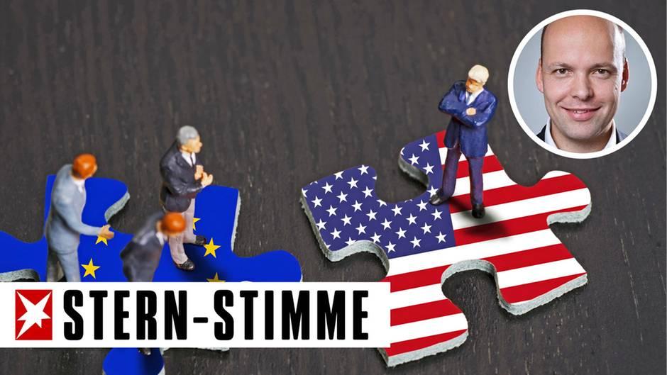 Handelskrieg zwischen de USA und Europa