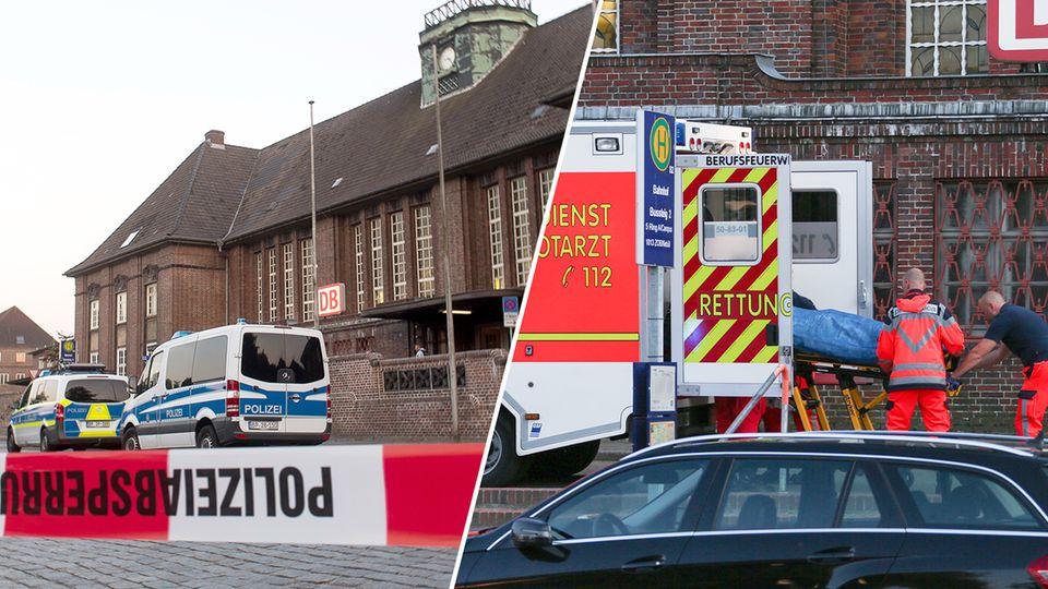 Der Messerangriff in einem Zug in Flensburg ereignete sich am Mittwochabend. Nach Zeugenaussagen konnte der Tathergang jetzt weiter aufgeklärt werden.