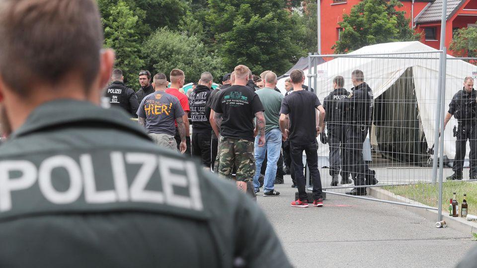 Im vergangenen Jahr nahmen rund 6000 Menschen an dem Neonazi-Festival
