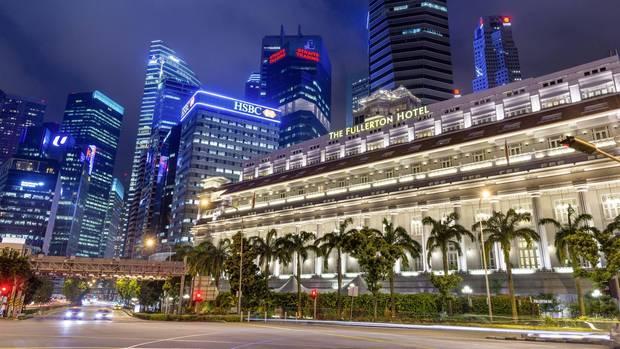 Singapur: The Fullerton Hotel