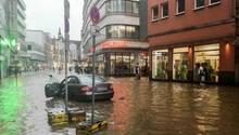 Unwetter in Wuppertal