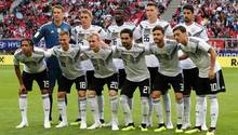 Die Startelf für den Test von Deutschland gegen Österreich