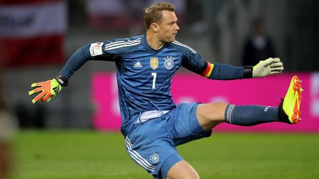 Manuel Neuer war gegen Österreich bereits in WM-Form