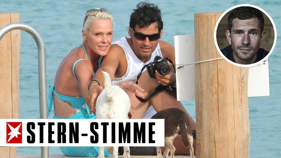 Finden St. Tropez auch richtig dufte: Brigitte Nielsen und ihr Ehemann Mattia Dessi
