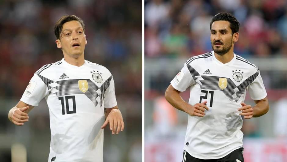 WM-Testspiel: Nach Treffen mit Erdogan: Pfeifkonzert für Özil und Gündogan