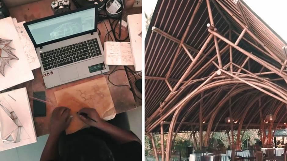 Indonesien: Bambus: Das Holz wird zum Material für Traumhäuser