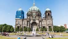 Polizist soll auf Mann im Berliner Dom geschossen haben