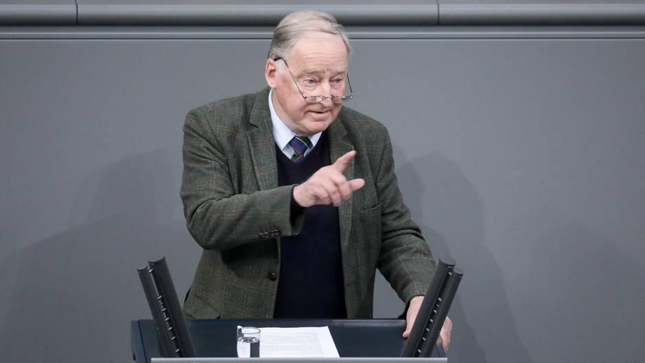 AfD-Politiker Alexander Gauland