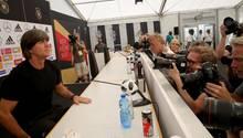 Joachim Löw bei der PK: Tah, Leno, Petersen und Leroy Sané müssen abreisen