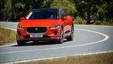 Jaguar I-Pace 400 AWD - die Kraftverteilung wird variabel zwischen den Achsen aufgeteilt