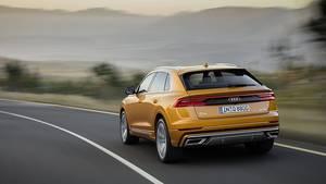 Audi Q8 - das Heck ist nicht so massiv wie die Front