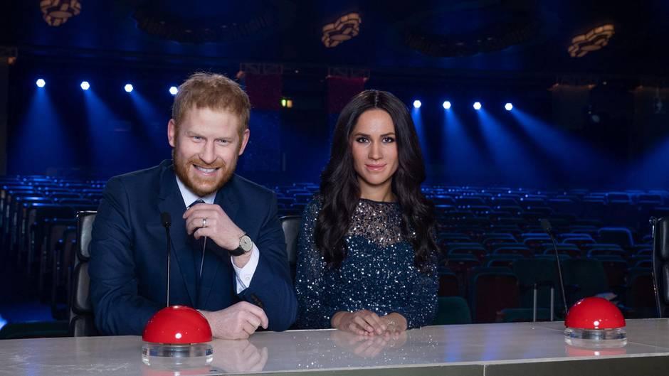 """Meghan und Harry bei """"Britain's Got Talent"""""""