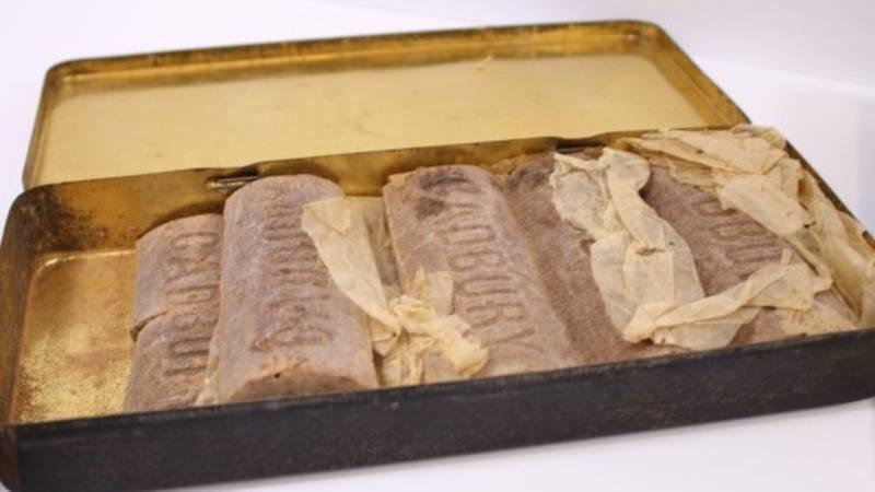 Ungewöhnliche Auktion: Was mehr als 100 Jahre alte Schokolade über einen Kriegshelden verrät
