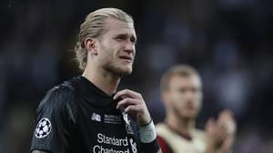 Loris Karius weint nach dem Champions League Finale