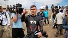 Zeichen gegen Plastikmüll: Benoît Lecomte will 9000 Kilometer durch den Pazifik schwimmen
