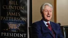 Bill Clinton stellt seinen Polit-Thriller