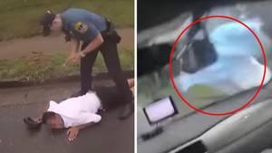 Polizist stoppt Flüchtigen mit Auto