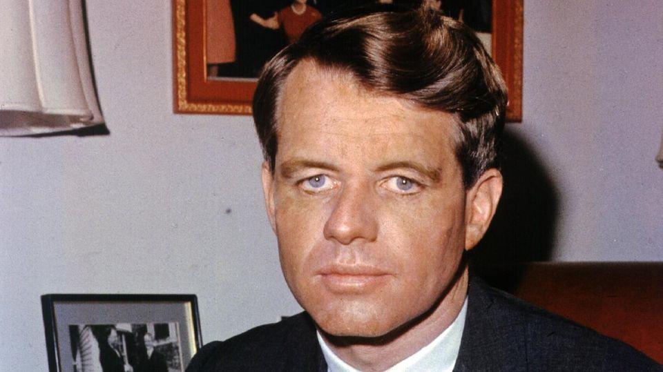 Robert Kennedy Porträt