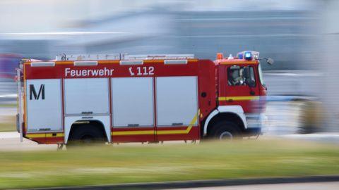 Einsatzwagen der Feuerwehr München