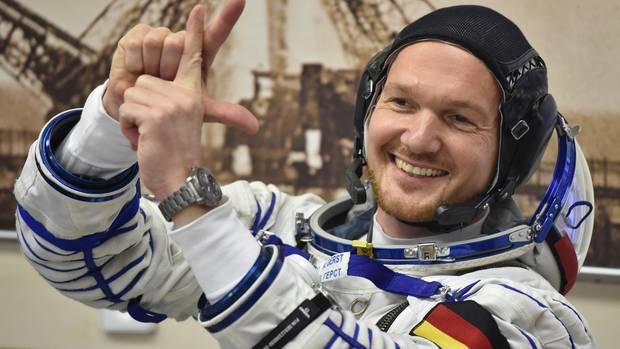 Alexander Gerst - alles bereit für den Start der Mission Horizons in Baikonur