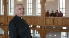 Wladimir Rodikowist der Pfarrer in der protestantischen Gemeinde von Marx.