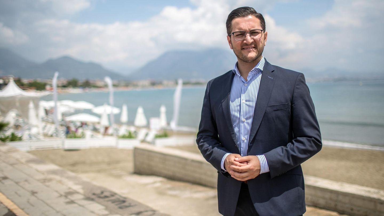Der ehemlige SPD-PolitikerMustafa Erkan kandidiert bei der Parlamentswahl in der Türkei für die AKP