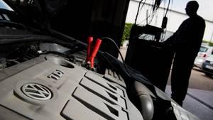 TDI-Diesel-Motor von VW.