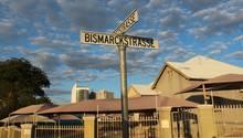 Bismarckstrasse in Windhuk (Namibia)