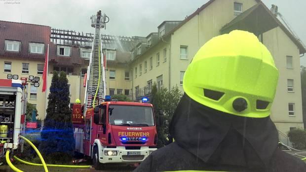 nachrichten deutschland - feuer seniorenheim