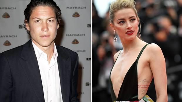 Vito Schnabel und Amber Heard