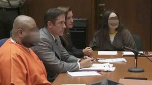 Isauro Aguirre, gegen den das Gericht in Kalifornien ein Todesurteil verhängte, und seine Freundin Sinthia Fernandez